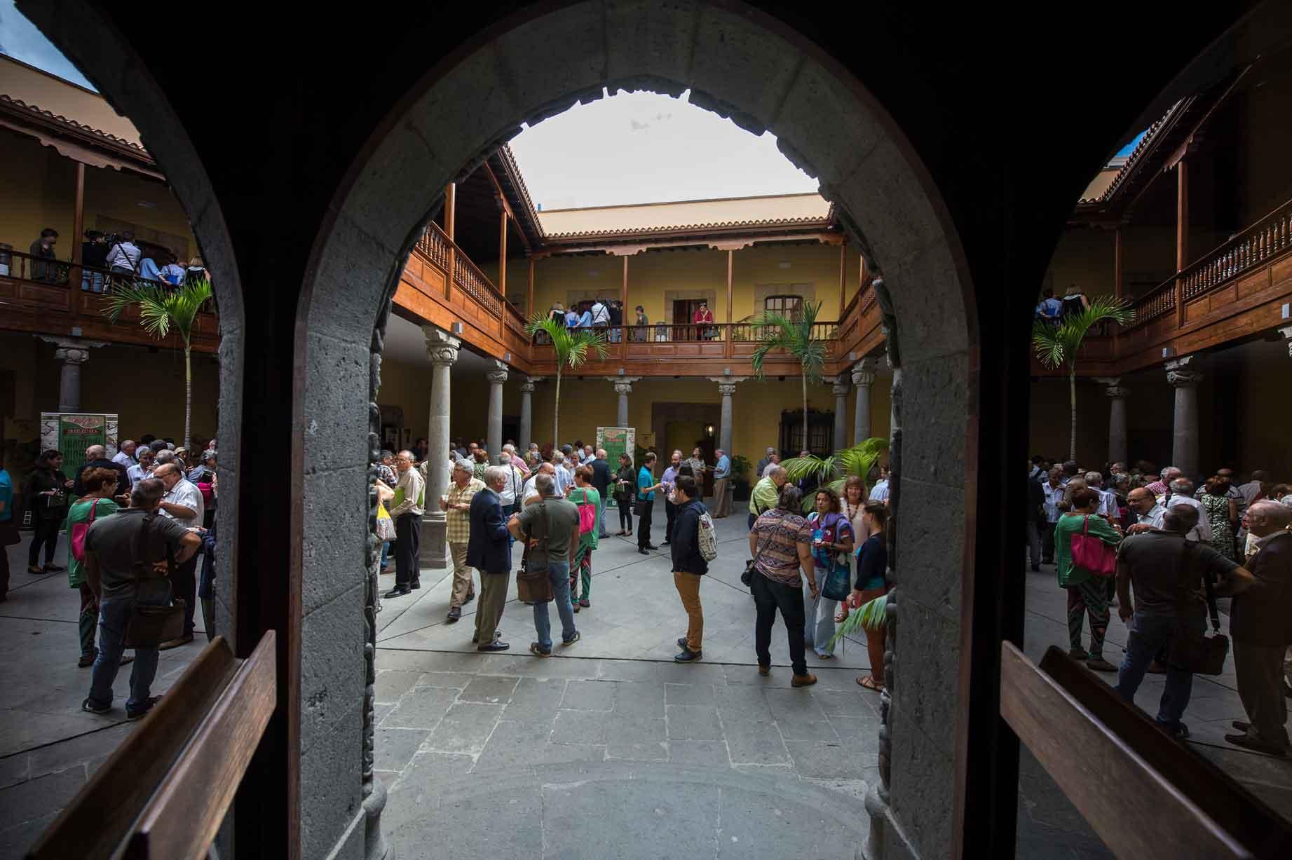 Sesión de apertura XXIII Coloquios de Historia Canario Americana